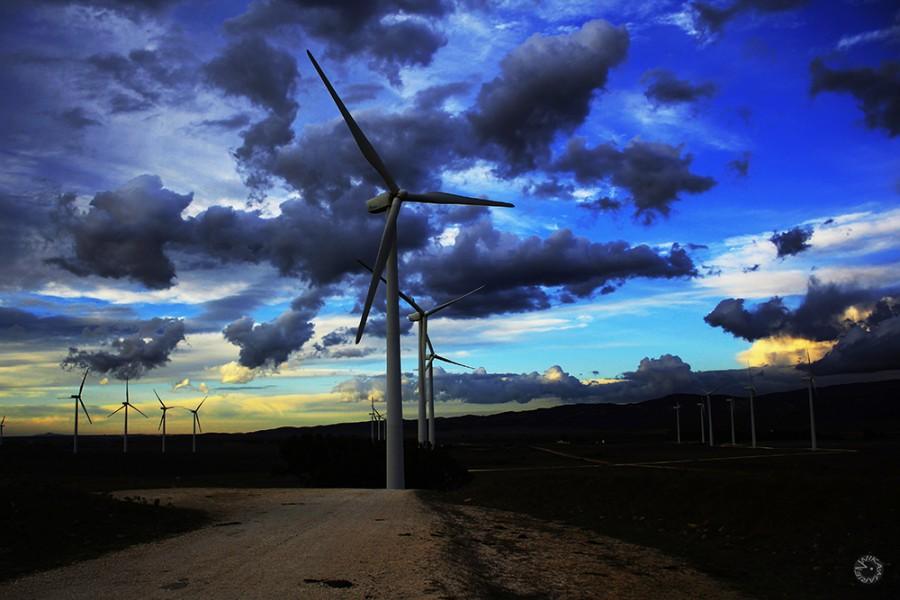 Wind turbines, Spain